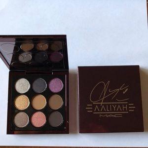 Mac Aaliyah x 9 eyeshadows w/ FREE gloss!